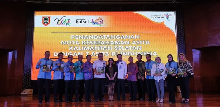 "Dishut Kalsel mengikuti ""South Kalimantan Tourism Business Forum 2019 Foto: hms"