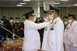 Gubernur Lampung Lantik Tujuh Kepala Daerah-Wakil Kepala Daerah