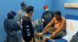 TKP di Rajabasa, Sopir Taksi Online Ditembak di Bagian Leher Hingga Tembus