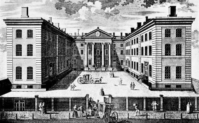 Prva administracija u Londonu