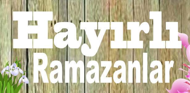 ramazan mesajı sade