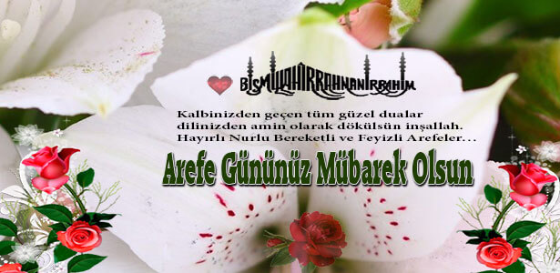 arefe günü ile ilgili mesajları