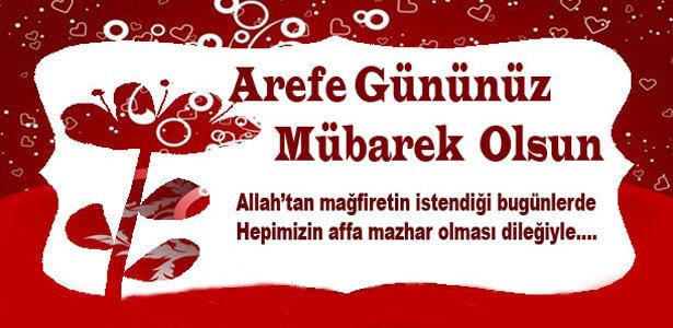 en güzel arefe günü mesajı