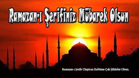hoş geldin ramazan ayı mesajları