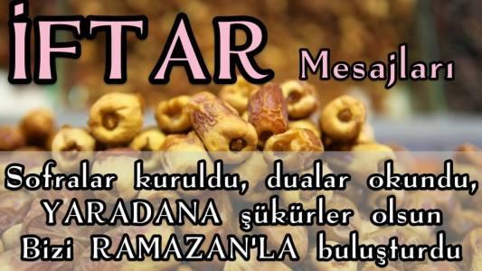 iftar mesajı