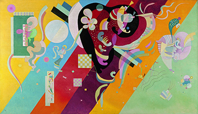 Composition IX by Wassily Kandinsky