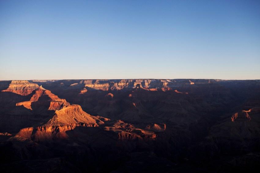 Grand Canyon sunrise, Arizona