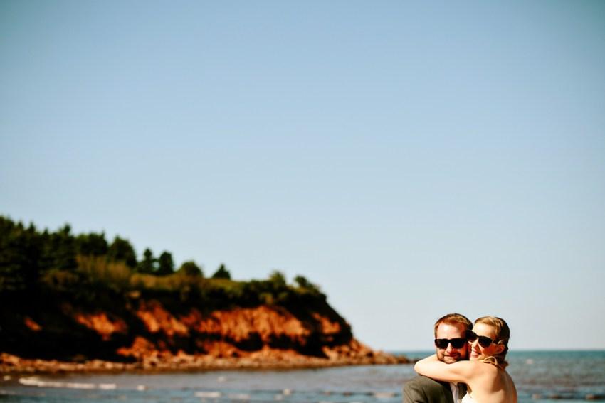 Cavendish Beach Wedding Portraits