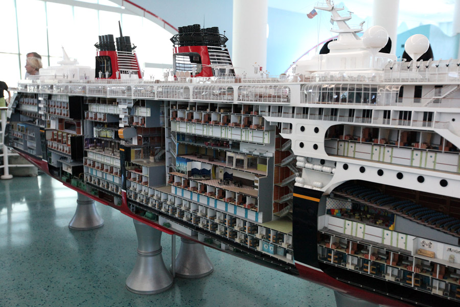 Disney Cruise Line model 2