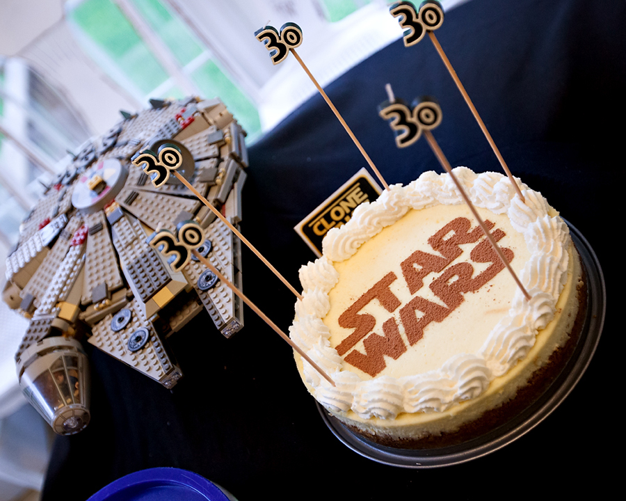 Turning 30 Star Wars Style