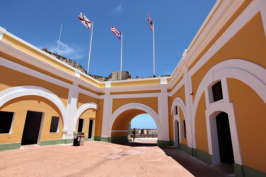 Castillo San Felipe Courtyard