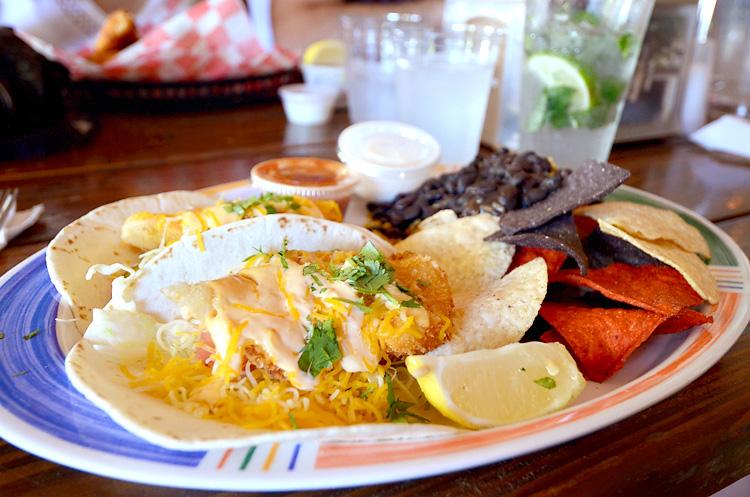 Hogfish - fish tacos