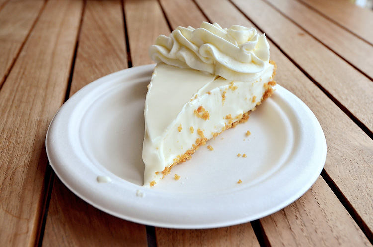 Key Lime Pie Company key lime pie slice