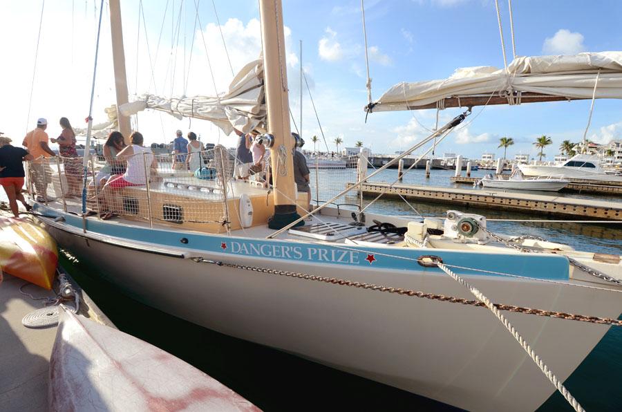 Danger Charter boat