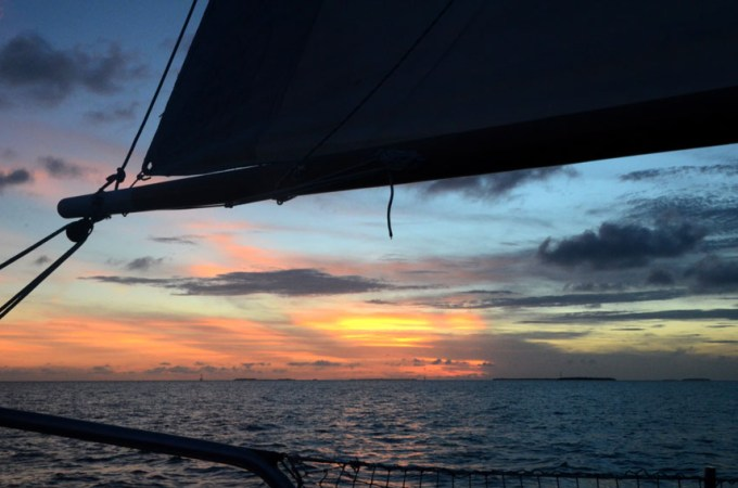 Key West : Danger Charters Wind & Wine Sunset Sail