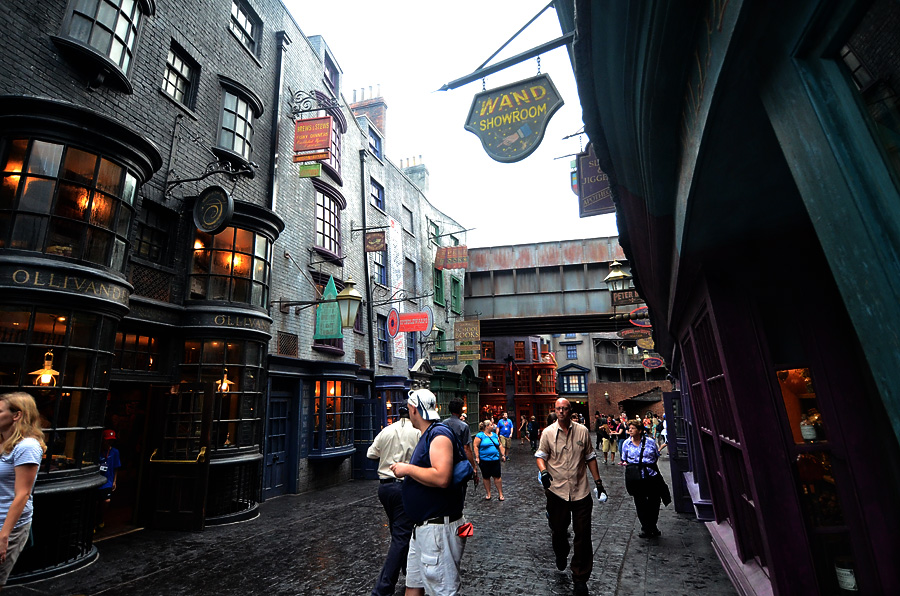 Diagon Alley Storefronts