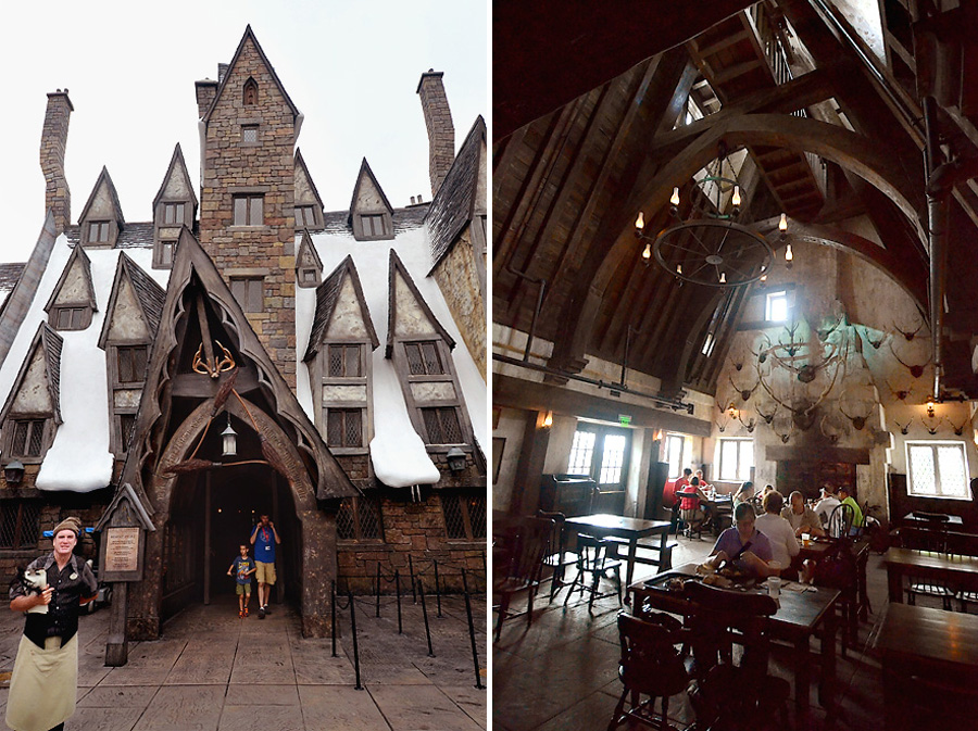 The Three Broomsticks Hogsmeade