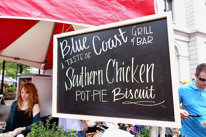 2015 International Biscuit Fest Blue Coast Chicken Pot Pie Biscuit