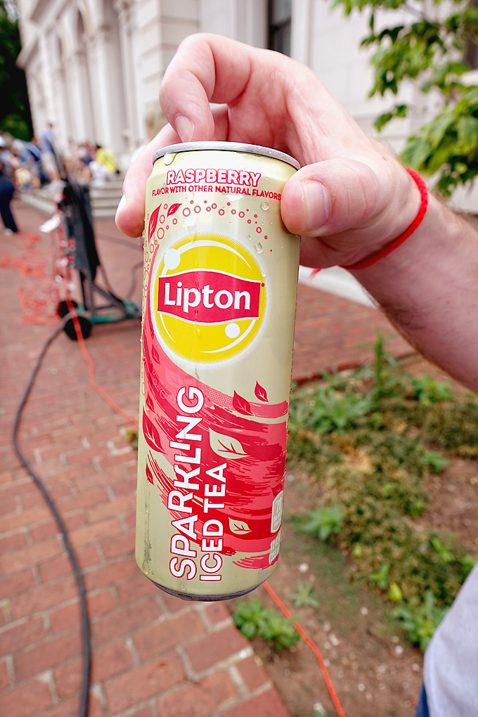 Lipton Sparkling Tea Raspberry
