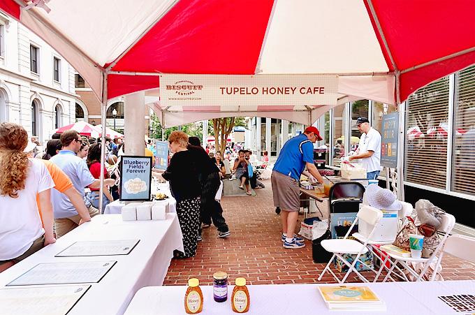 2015 International Biscuit Fest Tupelo Honey Cafe