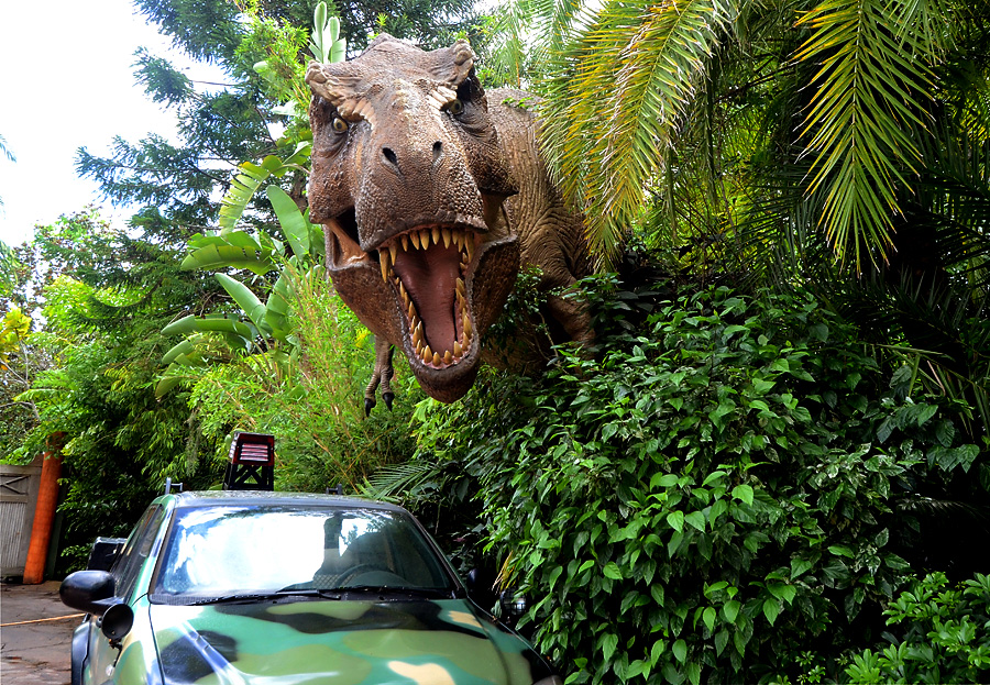 Universal Studios Islands of Adventure Jurassic Park T-Rex