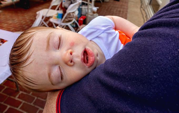 sleeping baby jasper