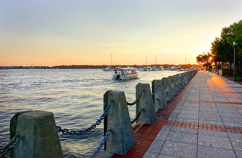 Beaufort-South-Carolina-Riverwalk-Sunset-01