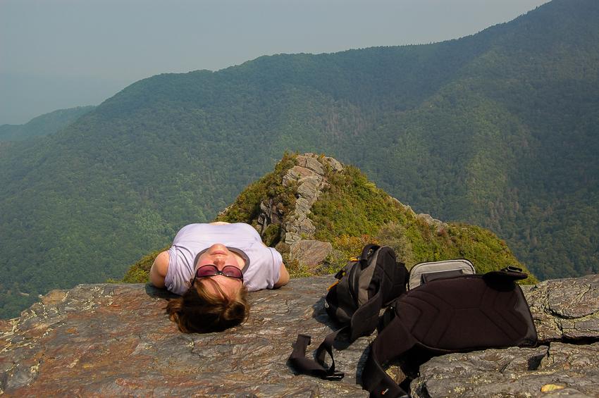 chimney-tops-napping-on-summit
