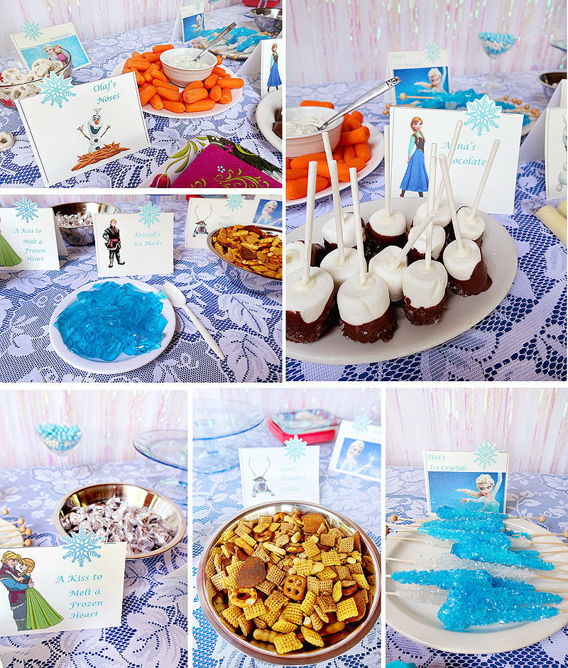 Arabella-4th-birthday-frozen-party-food