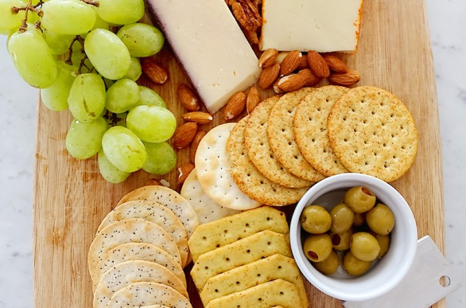 Quick Cheese Board