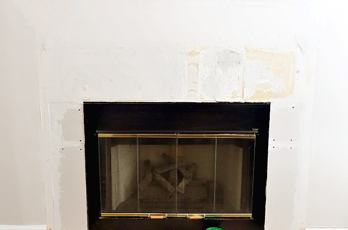 A Realistic Fireplace Makeover: Part I