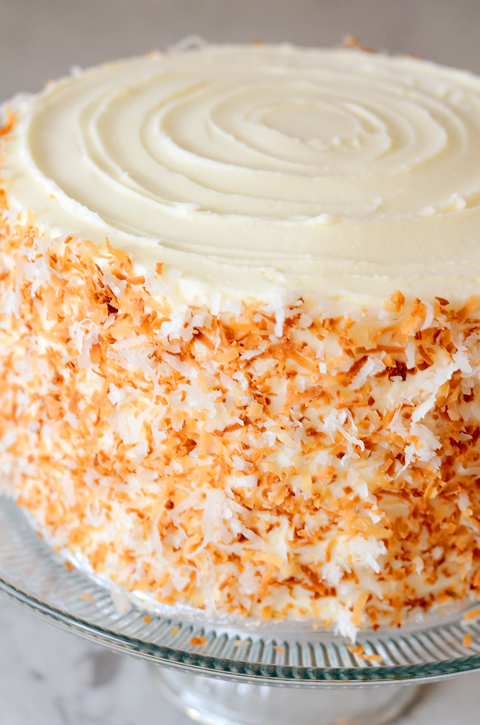 Coconut Pineapple Cake