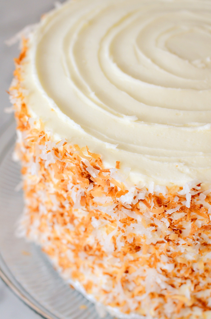 Pineapple Coconut Swirl Cake Recipe