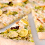Meyer Lemon Brussels Sprouts Pizza
