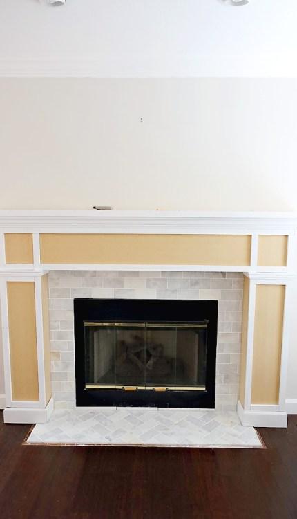 Fireplace-Makeover-DIY-Mantel-10