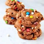 Chocolate Snack Monster Cookies