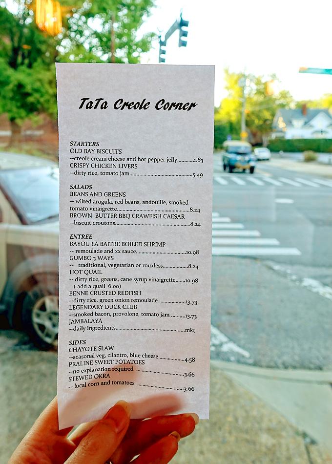 Knoxville Eats: TATA Creole Corner Pop-up