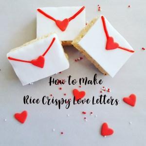 Rice Crispy Love Letters