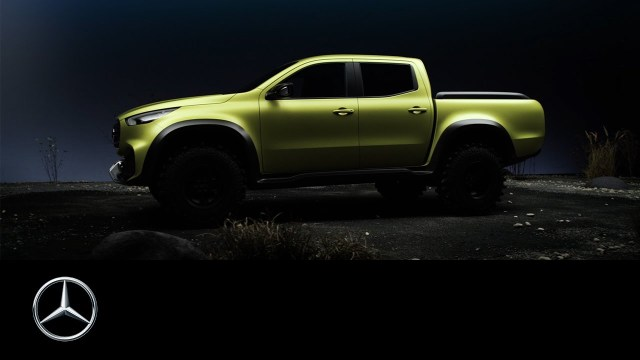 X Marks the Spot: Mercedes Builds a Pickup!