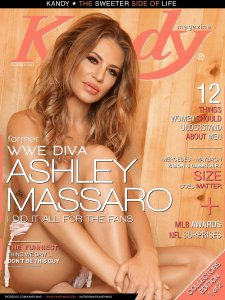 WWE Diva Ashley Massaro Kandy Cover