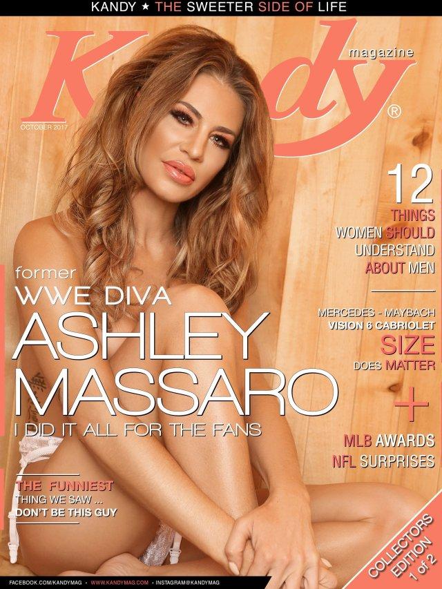 WWE Diva Ashley Massaro Kandy Cover