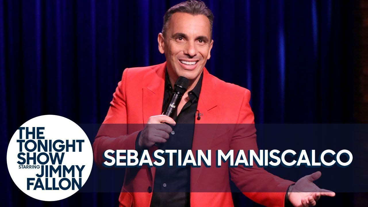 Sebastian Maniscalco on Tonight Show