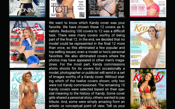 Kandy Magazine Top 12 Covers