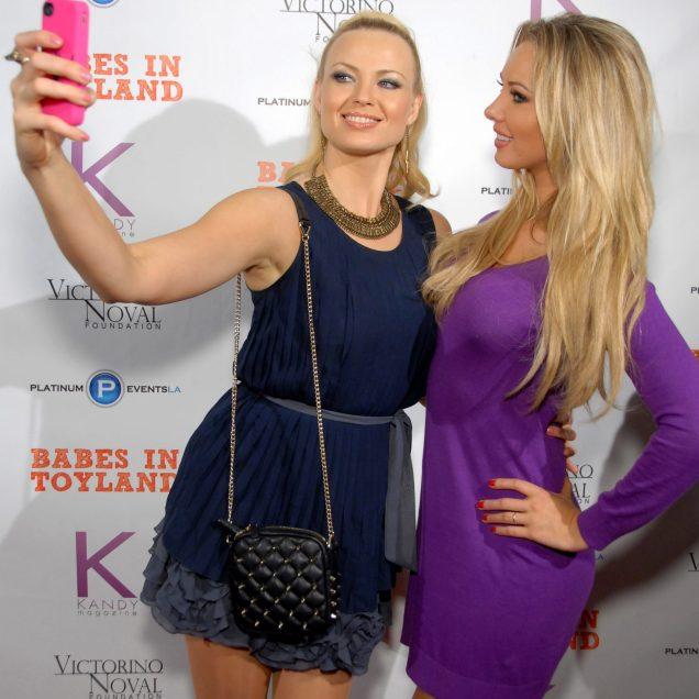 Playmates Irina Voronina and Tiffany Toth