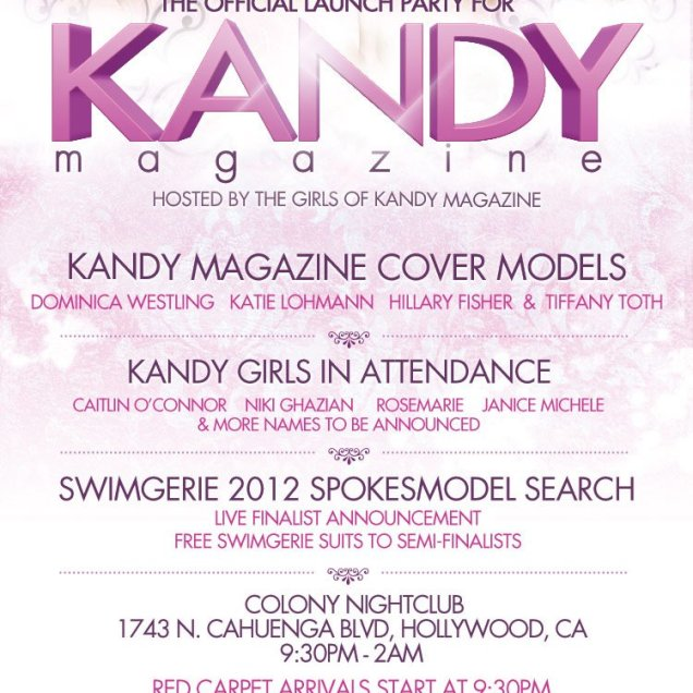 Kandy Launch Party Invite