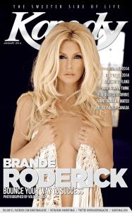 Brande Roderick Cover Kandy Magazine