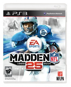 Madden 25 Box Art