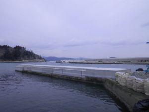 石浜(唐桑)漁港石浜南防波堤外災害復旧工事