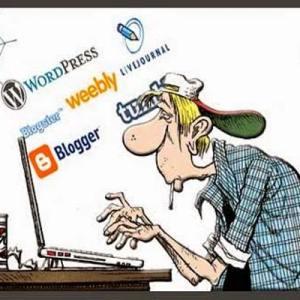 mengelola blog