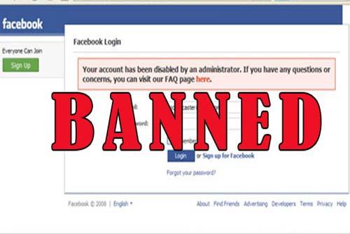 banned facebook
